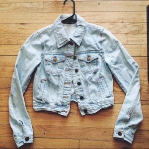 Light Faded Denim Jacket ♡